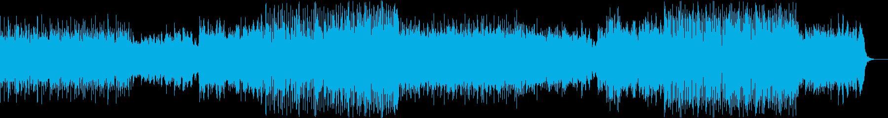 水の癒し×愛の音色=新感覚の爽やかさ!4の再生済みの波形