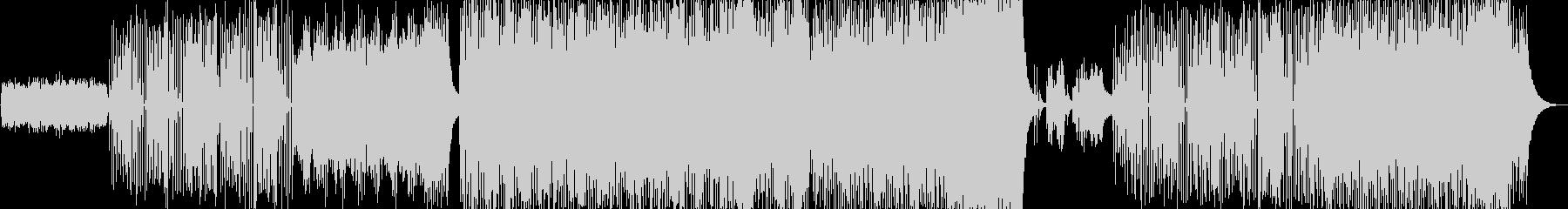 幻想的でプログレッシブなジャズBGMの未再生の波形
