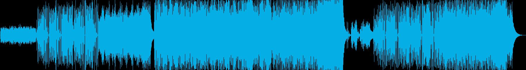 幻想的でプログレッシブなジャズBGMの再生済みの波形