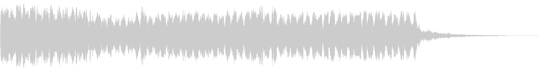 不穏 トランペット リバーブ ロングの未再生の波形