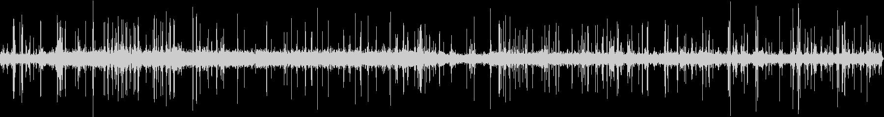 古典的なラジオの静的ノイズの未再生の波形