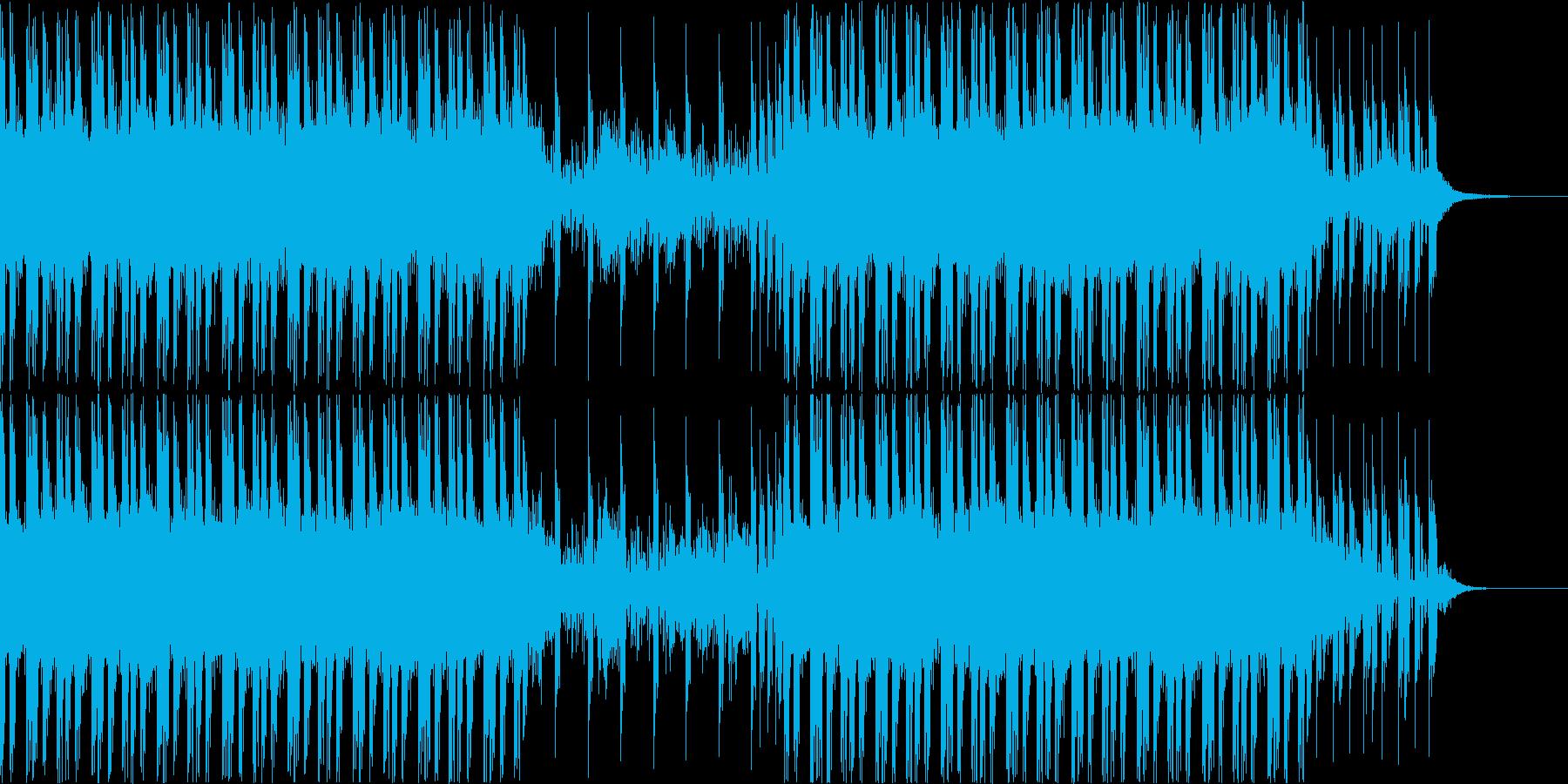 ゲームに使えそうなBGMの再生済みの波形