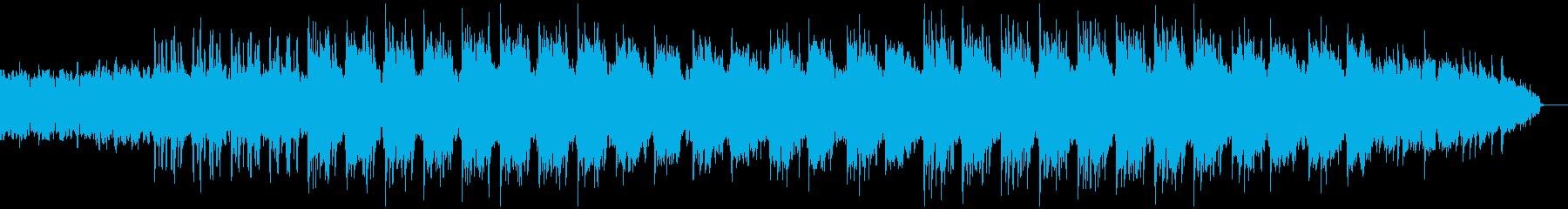 深い海をイメージしたオリエンタルテクノの再生済みの波形