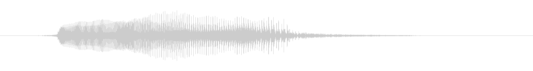 男性:シングルうめき声、コメディう...の未再生の波形