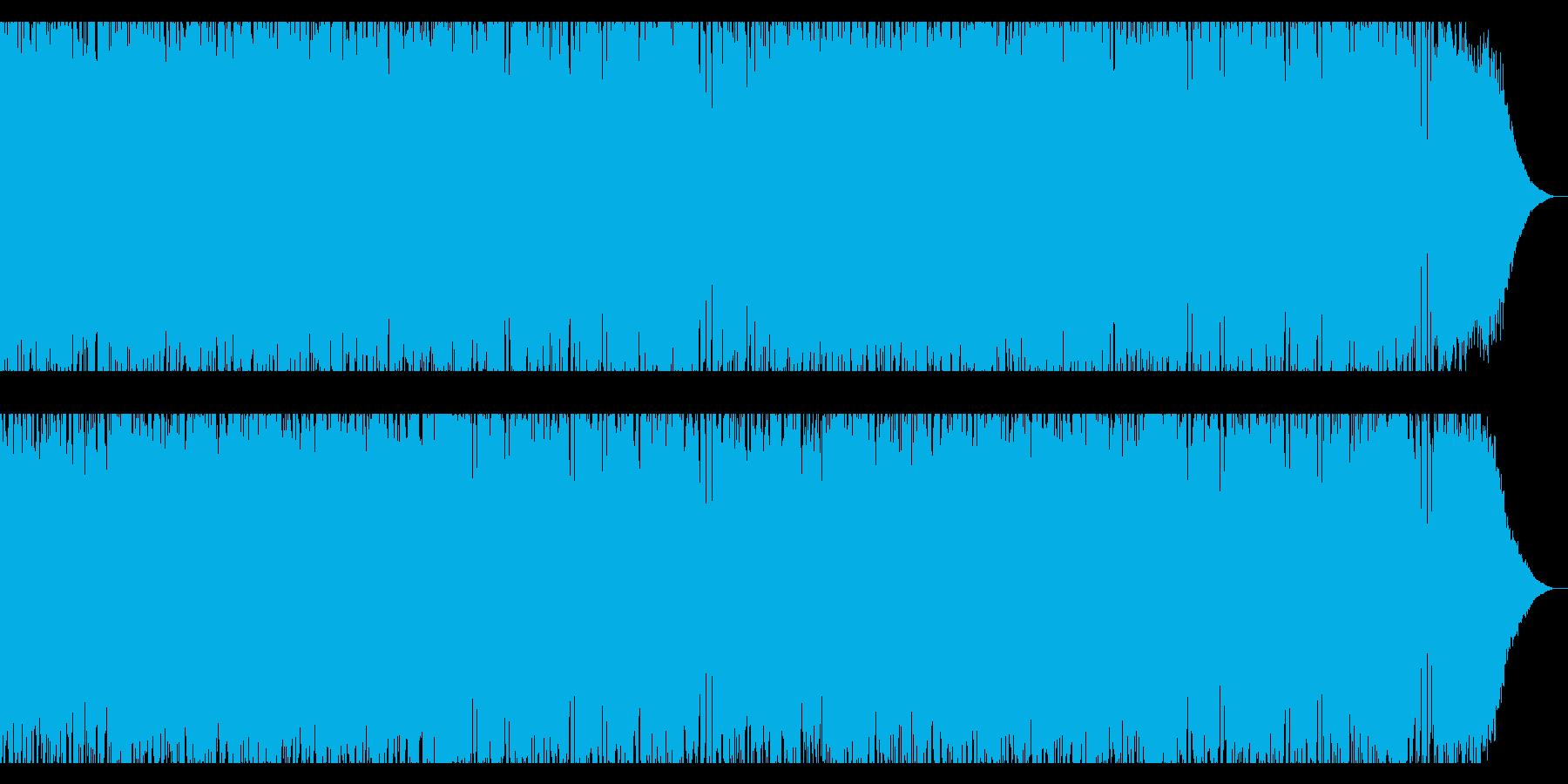疾走感のある爽快なパンク・ハードロックの再生済みの波形