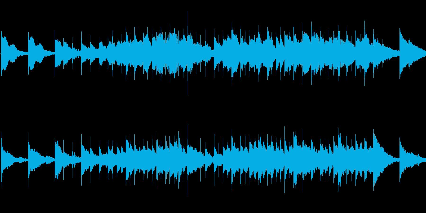 悲しいオルゴールの再生済みの波形