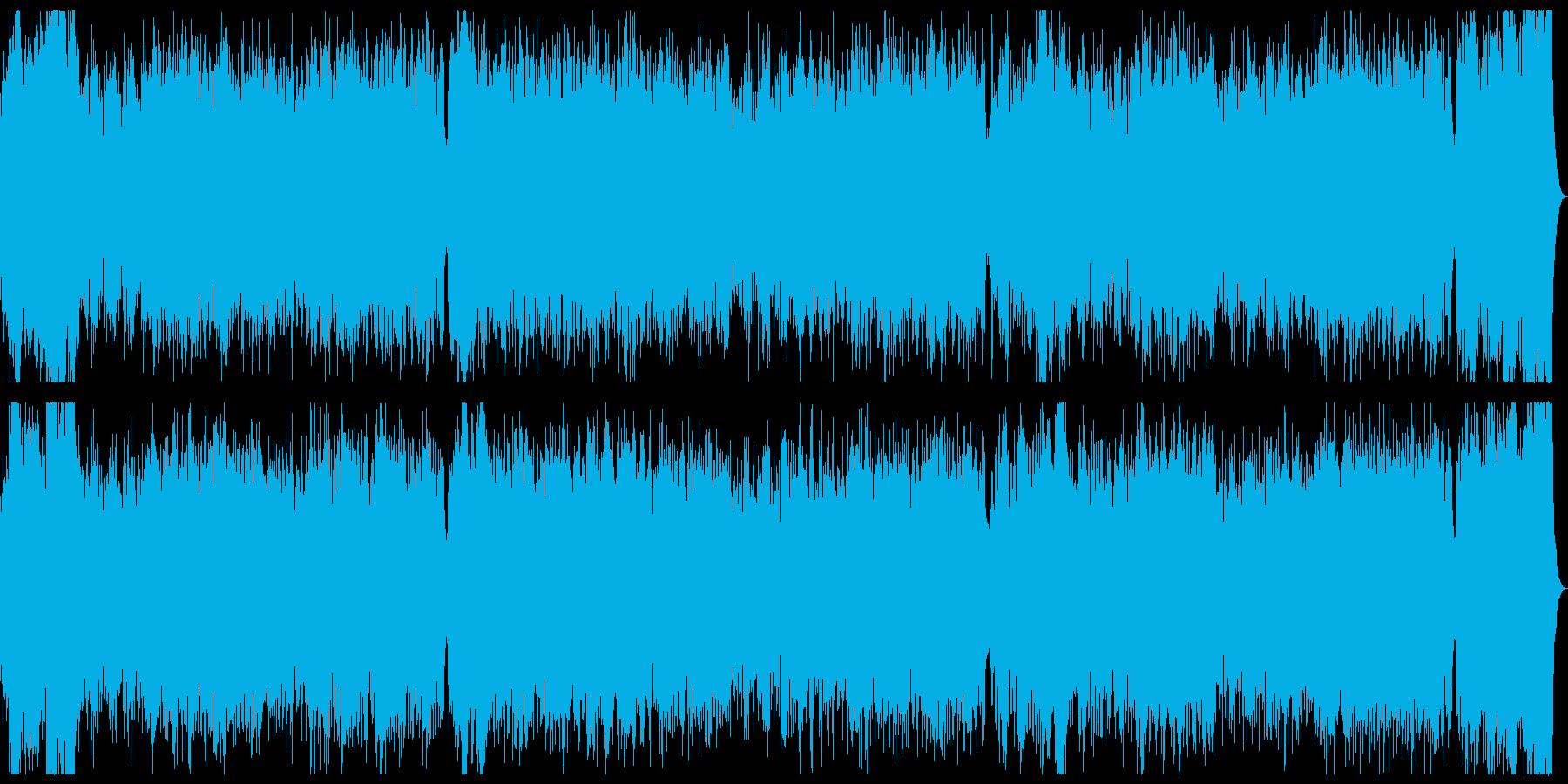 ブレイブハート 勇壮なシンセストリングスの再生済みの波形