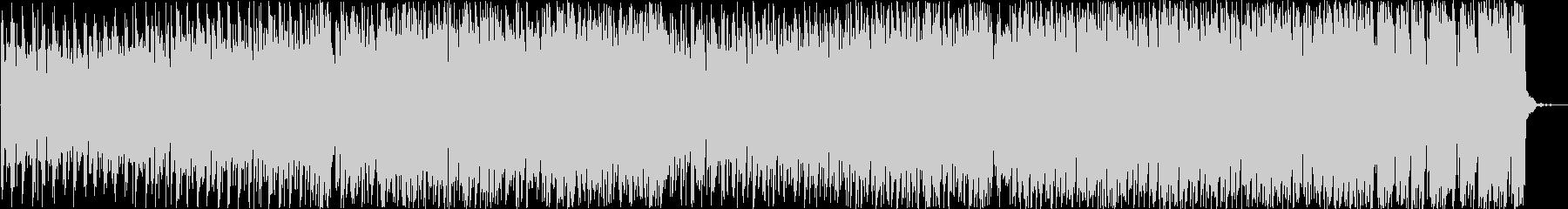 テンポ早めの縦ノリEDMの未再生の波形
