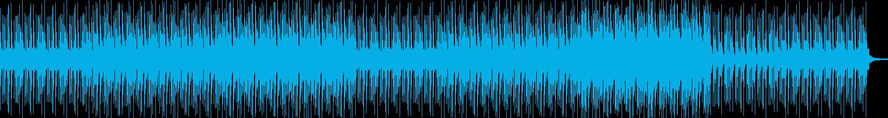 ベースがクールなクライムコメディ風の曲の再生済みの波形