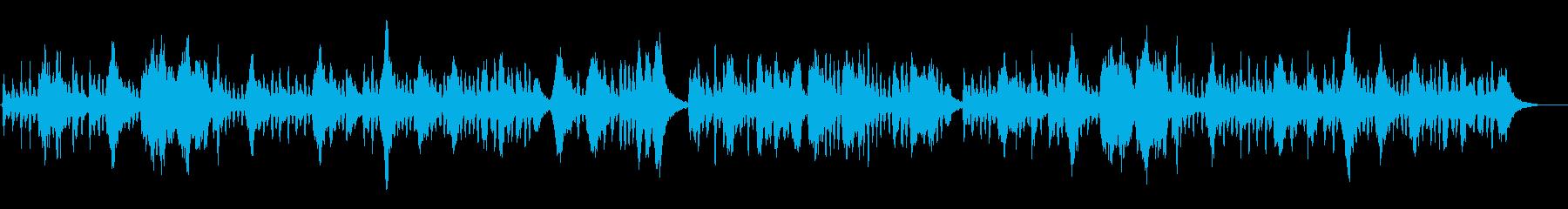 生演奏クラシック、モーツァルト、可愛いの再生済みの波形