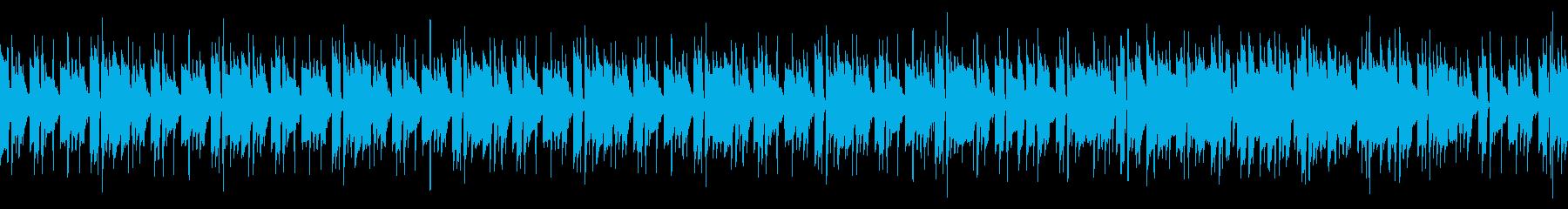 【ループ版】スチールパンとアコギの夏向きの再生済みの波形