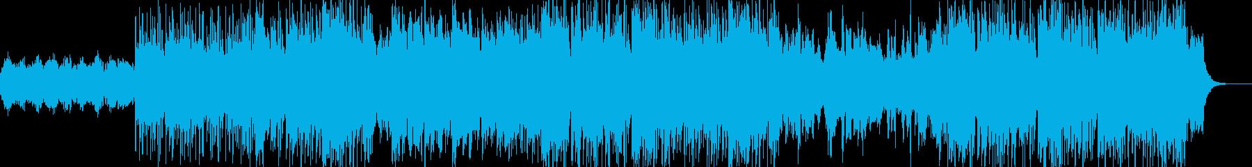 Cilled saxの再生済みの波形