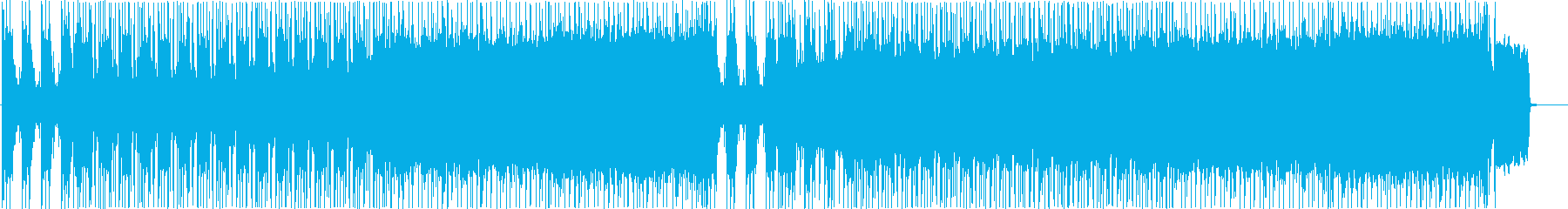 Metal BGM in the image of battle's reproduced waveform