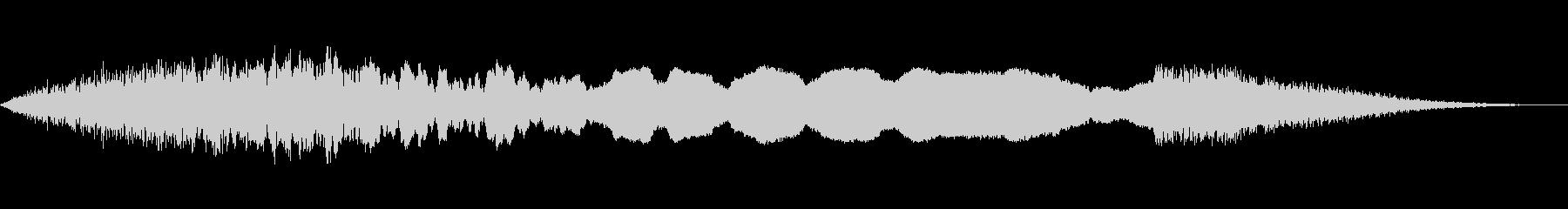 アラーム、サイレン、エアRAID、...の未再生の波形
