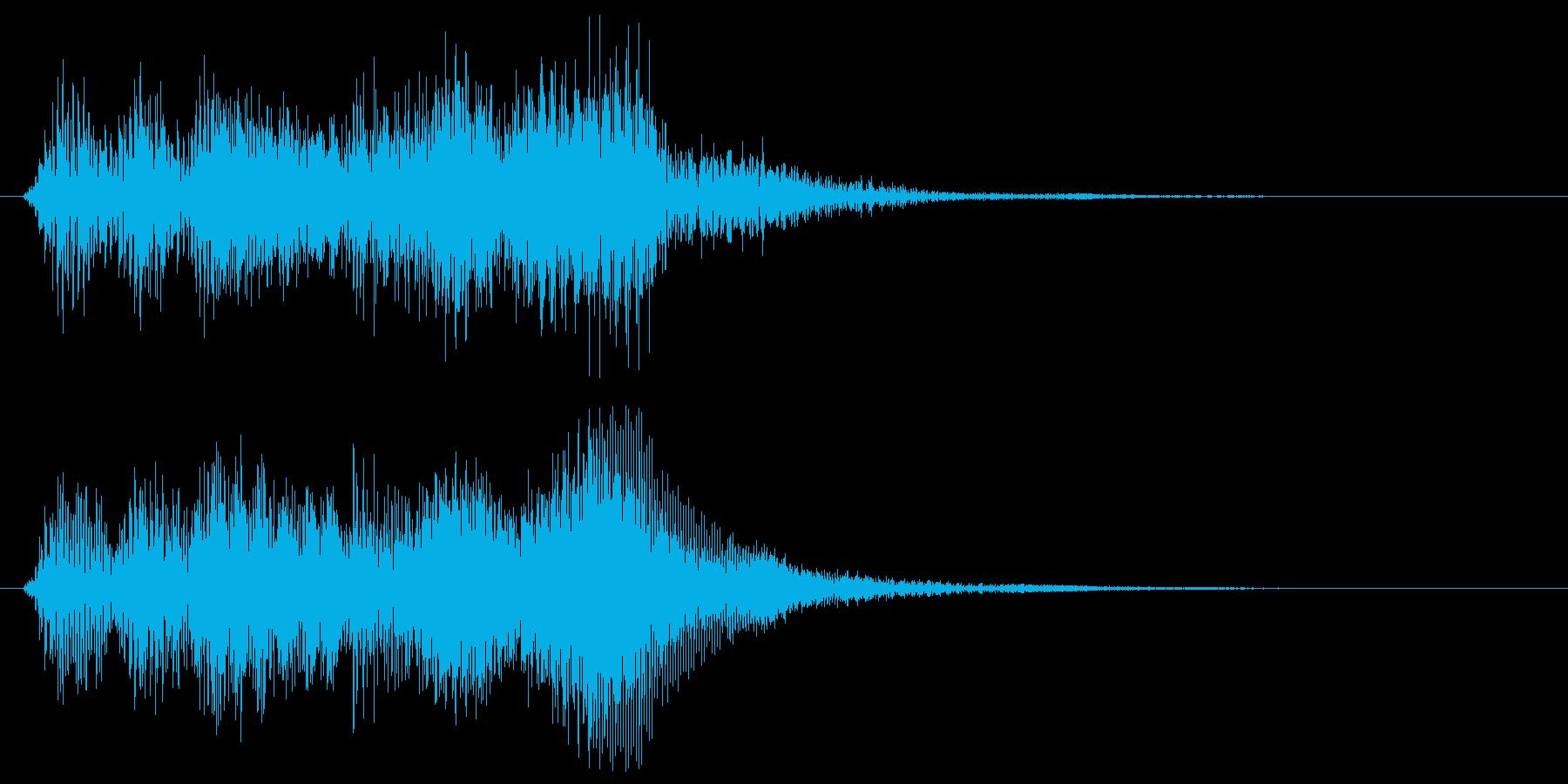 ブラス系の短いゲームクリア 転回音 達成の再生済みの波形