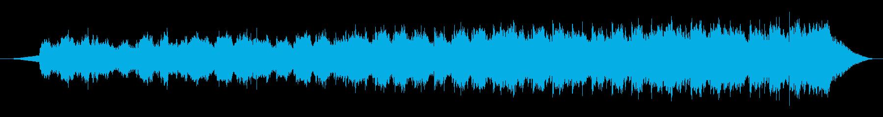 思い出の再生済みの波形