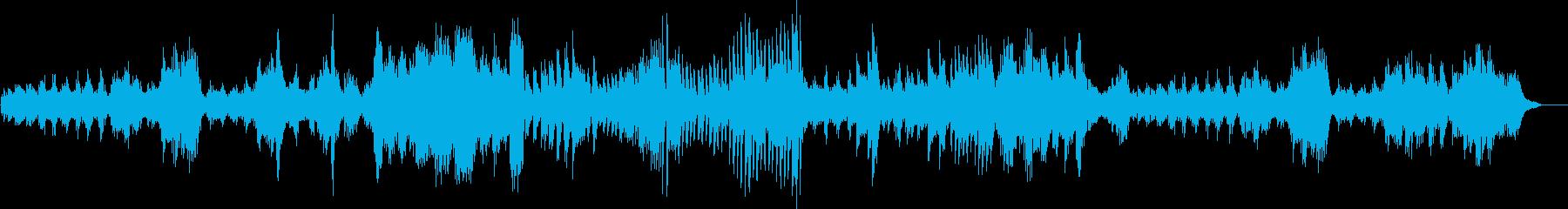 ベートーヴェン :ピアノソナタ 第三楽章の再生済みの波形