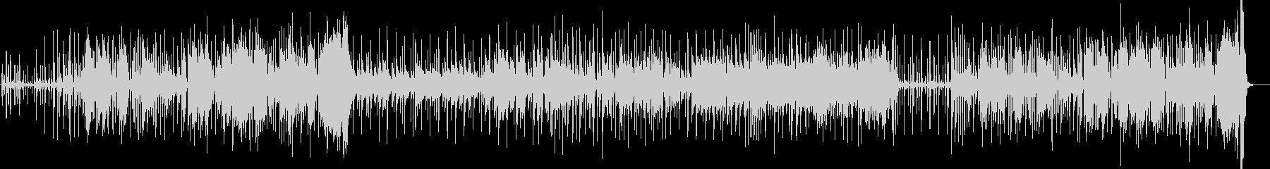 アバンギャルドなサックスのブルースの未再生の波形