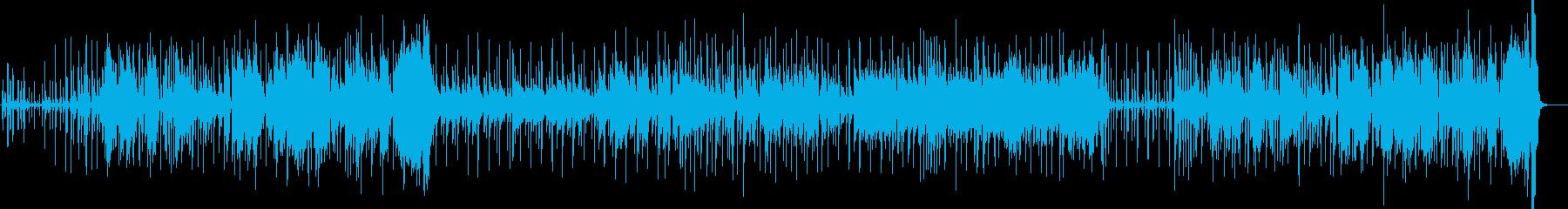 アバンギャルドなサックスのブルースの再生済みの波形