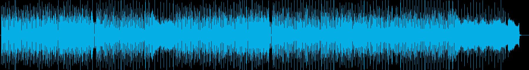 情報番組BGM系シンセサイザーポップスの再生済みの波形