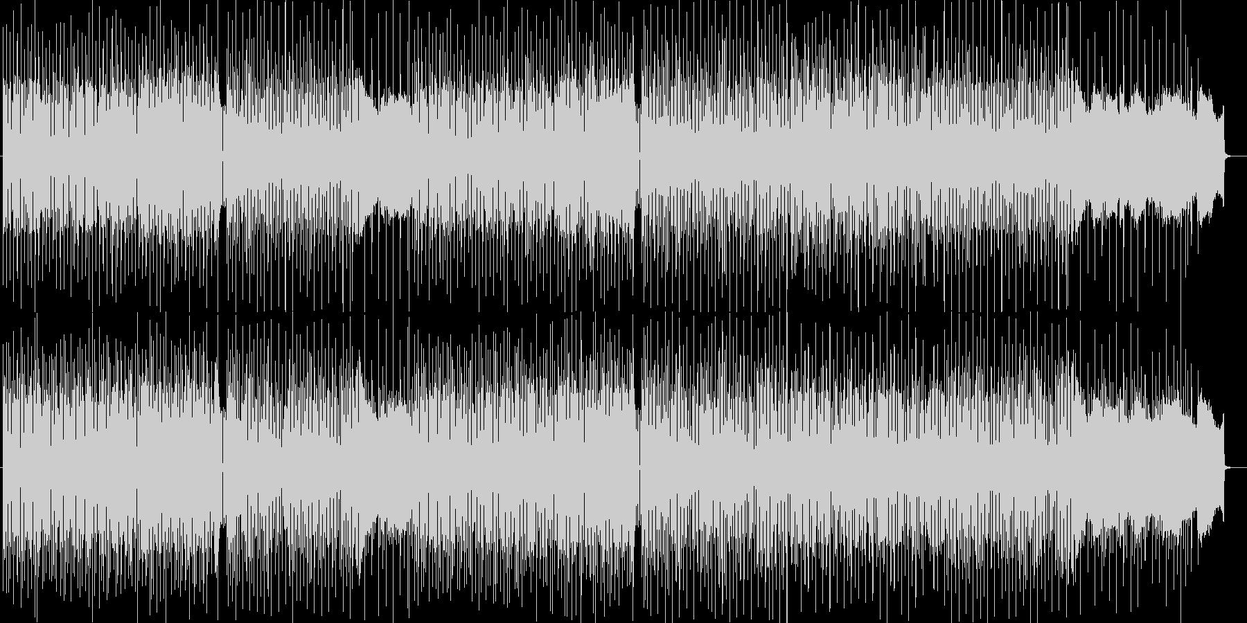 情報番組BGM系シンセサイザーポップスの未再生の波形