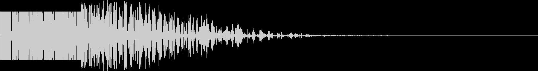 ズシン(重い足音系)02の未再生の波形