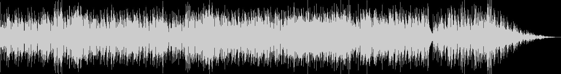 ジャズスタンダードアップテンポ フルートの未再生の波形