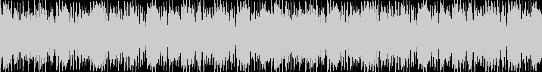 マリンバ/ピアノ/ループ/動画BGM用の未再生の波形