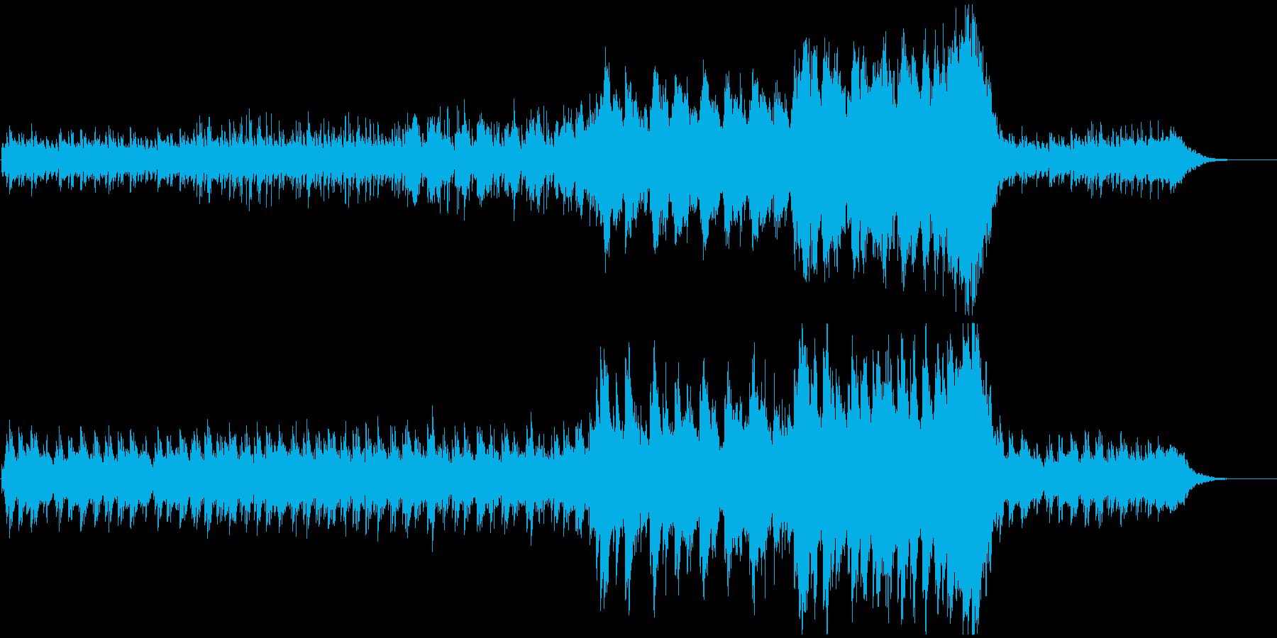 凛としたピアノが印象的なニューエイジの再生済みの波形