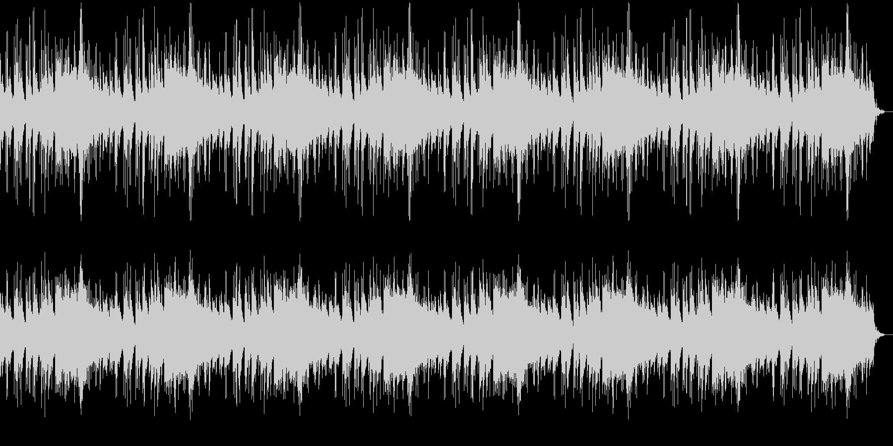 美しく悲しい旋律のピアノの曲の未再生の波形