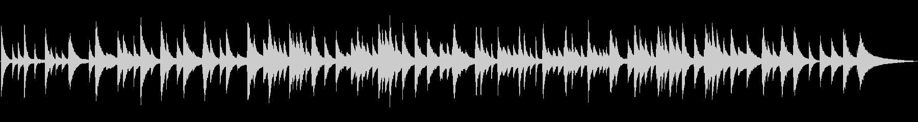 しっとり静かなピアノソロ/ジャズラウンジの未再生の波形