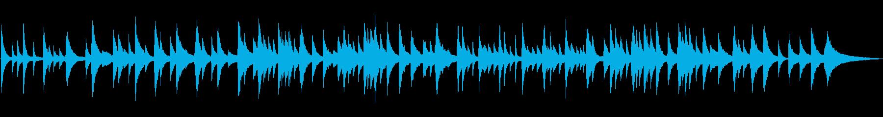 しっとり静かなピアノソロ/ジャズラウンジの再生済みの波形