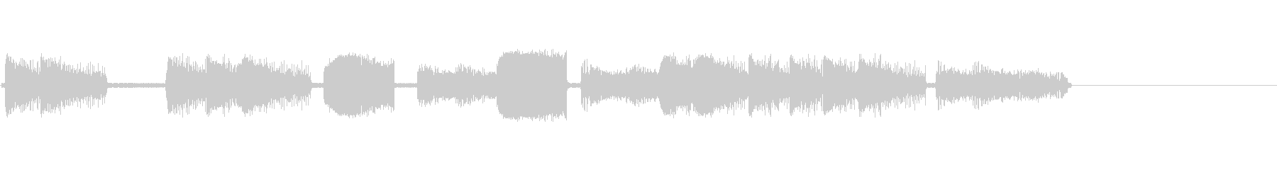 レーザー、アーケード8の未再生の波形
