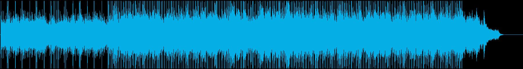 明るく軽やかなBGMの再生済みの波形