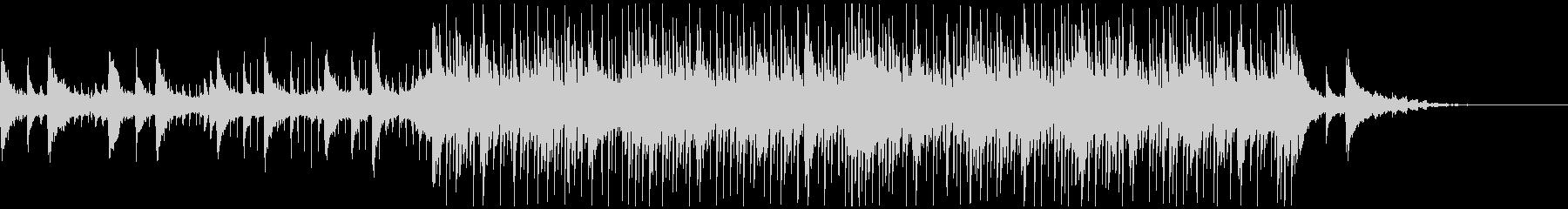 ピアノ/切なく綺麗なメロディのBGMの未再生の波形