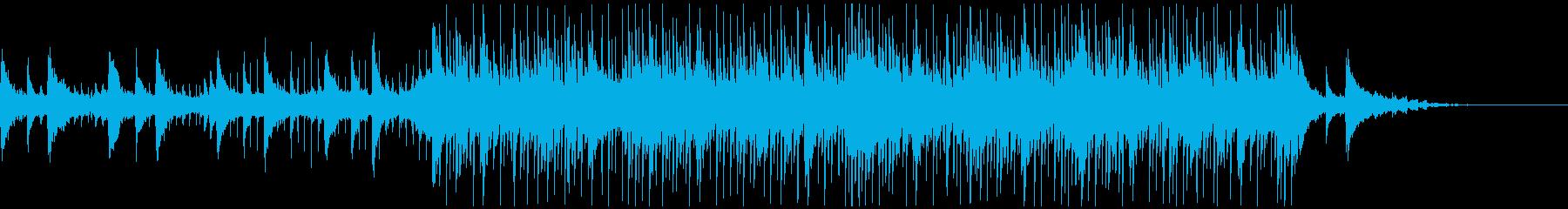 ピアノ/切なく綺麗なメロディのBGMの再生済みの波形