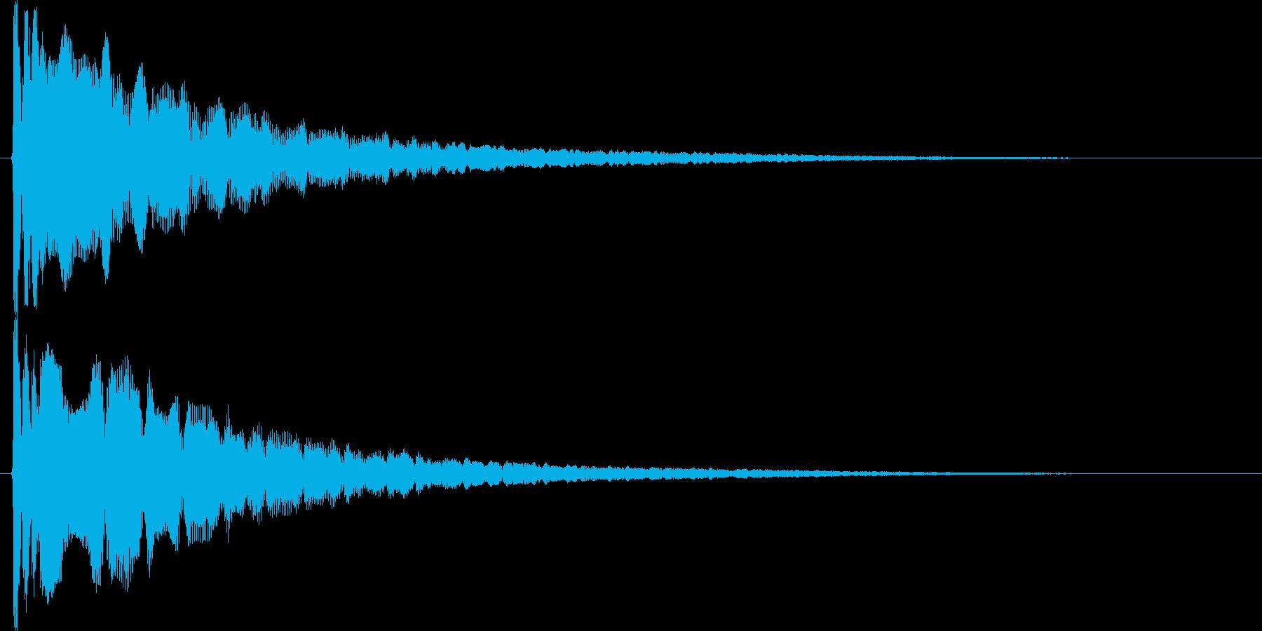 ボヨヨ~ン・・・の再生済みの波形