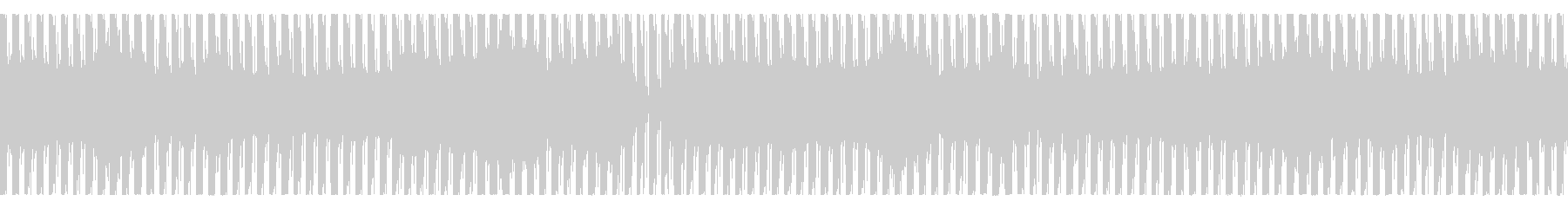 機械的連続音楽 次第に音色がかわっていくの未再生の波形