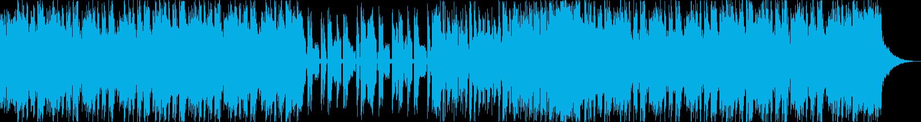 疾走感緊張感デジタルダークドラムンベースの再生済みの波形