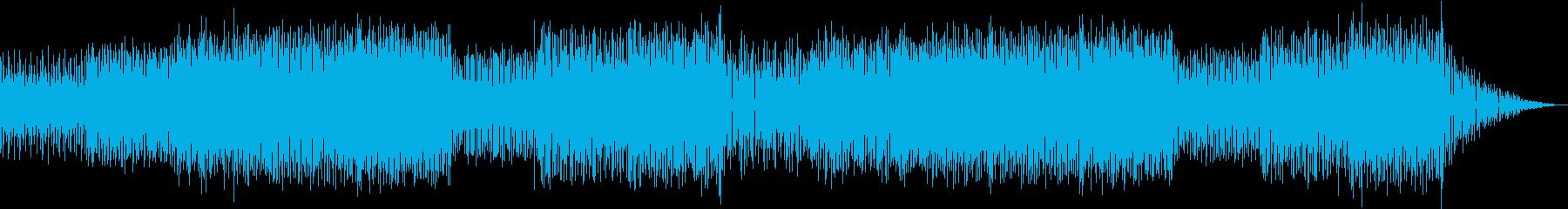 頭脳系バトルな雰囲気のクールEDM-2の再生済みの波形