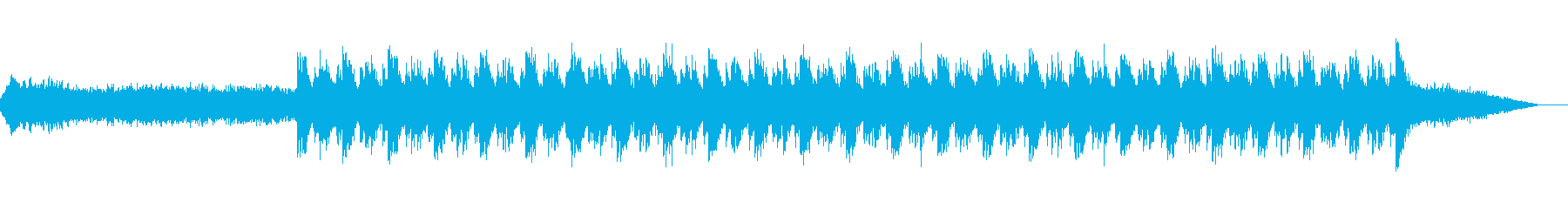 重厚なダークファンタジー系アンビエントの再生済みの波形
