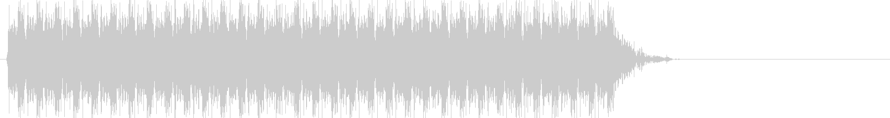 ドドドドドドドド(マシンガン、連射)の未再生の波形