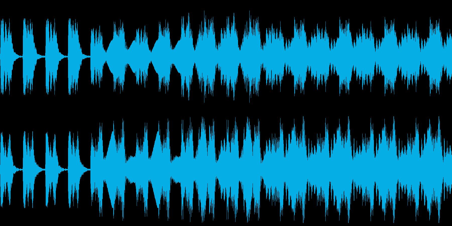 【映画/不穏/ストリングス】の再生済みの波形