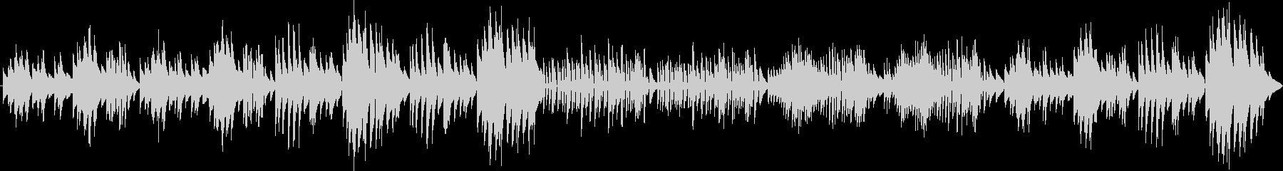ベートーヴェン メヌエット(ピアノ)の未再生の波形