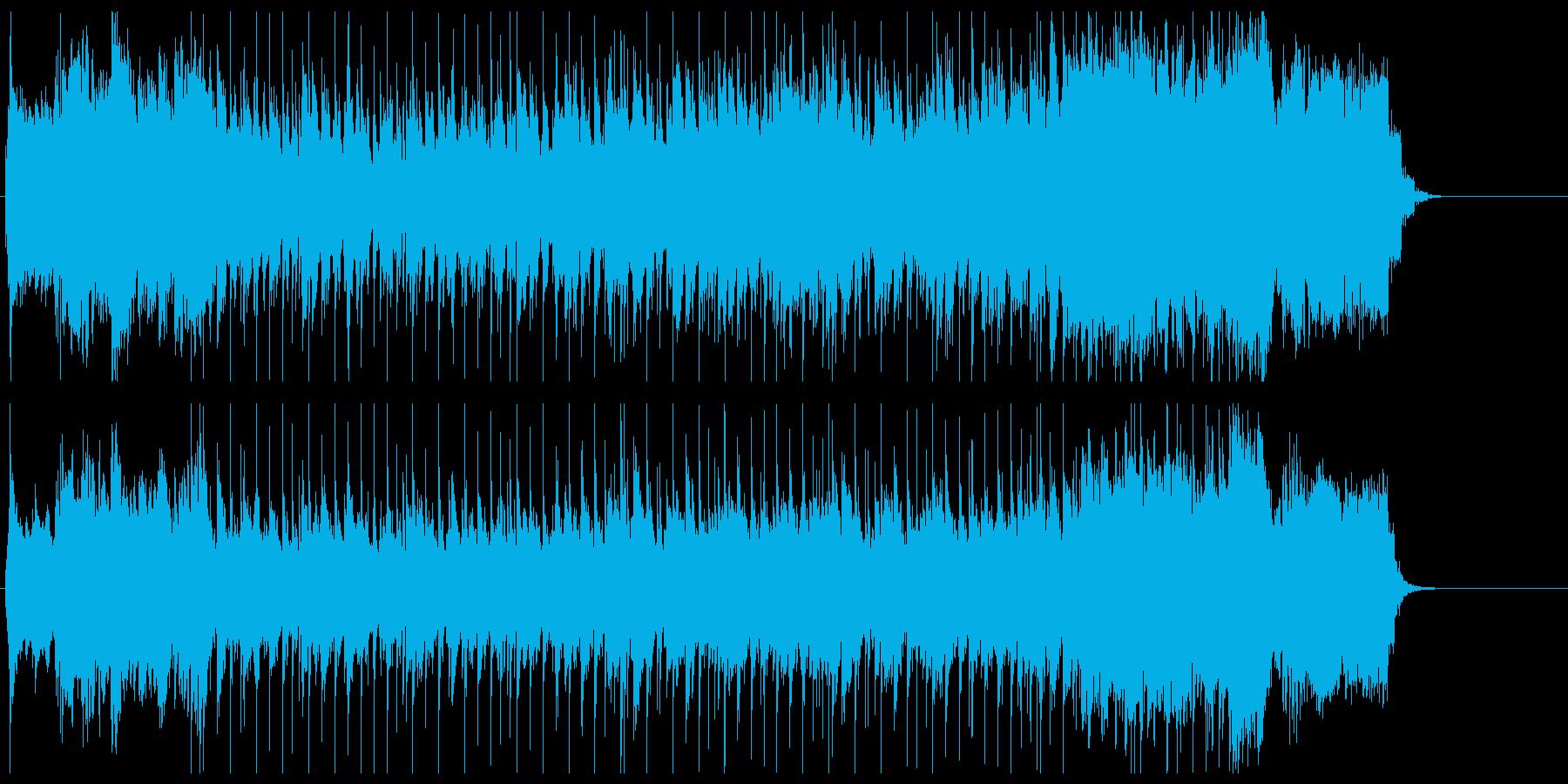軽快 さわやか 前進 充実 情報 目覚めの再生済みの波形