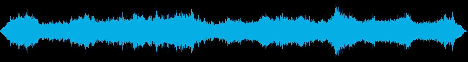 シーオーシャンストーム1-ヘビーウ...の再生済みの波形