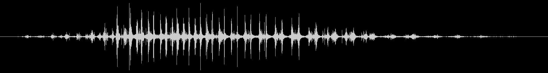 シェーカー ウッドラトルダイナミック03の未再生の波形