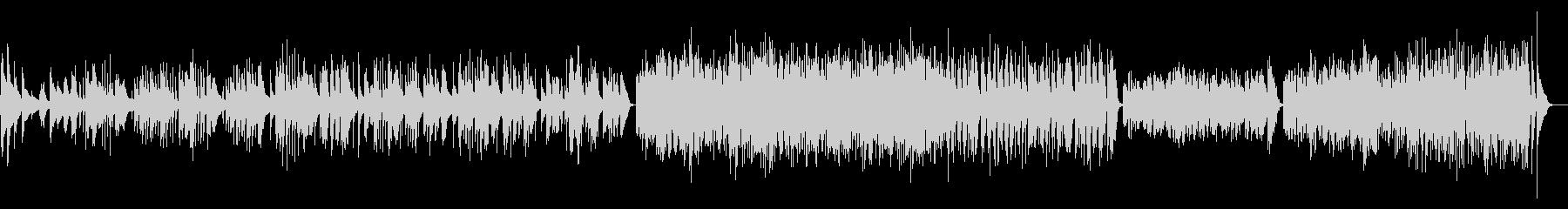チャルダッシュ 木琴とピアノ ホールの未再生の波形