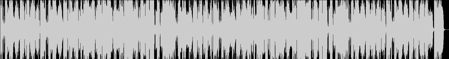 サックス、バラードの未再生の波形
