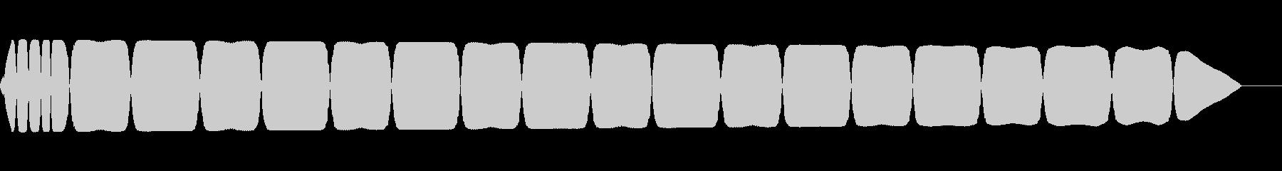 ピロロロ(ファミコン/電話/アラート音の未再生の波形
